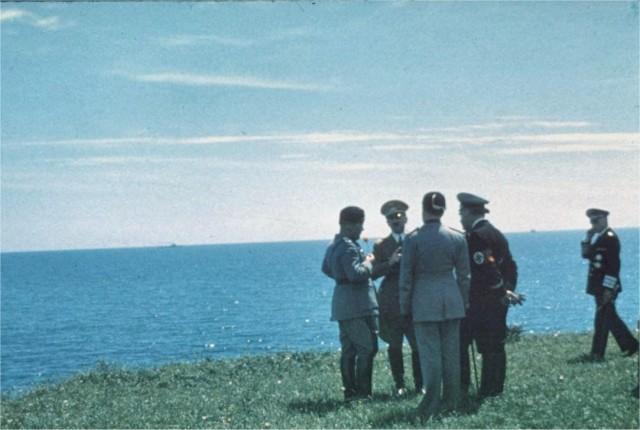 Hitler Mussolini a Santa Marinella