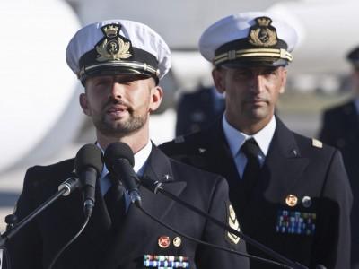 Rientro in Italia dei marò Salvatore Girone e Massimiliano Latorre