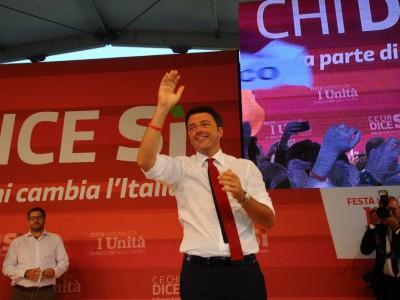 Renzi a Milano