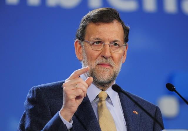 """BARCELONA...GIRONA...18.11.2012...EL PRESIDENTE DEL GOBIERNO, MARIANO RAJOY, HA ASISTIDO AL ACTO DE CAMPA""""A DEL PP EN GIRONA...CON ALICIA SANCHEZ CAMACHO...FOTOS INES BAUCELLS...ARCHDC"""