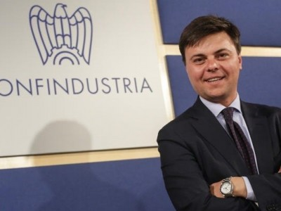 06/05/2014 Roma, Confindustria conferenza stampa del nuovo Presidente dei Giovani Imprenditori, nella foto Marco Gabriele Gay