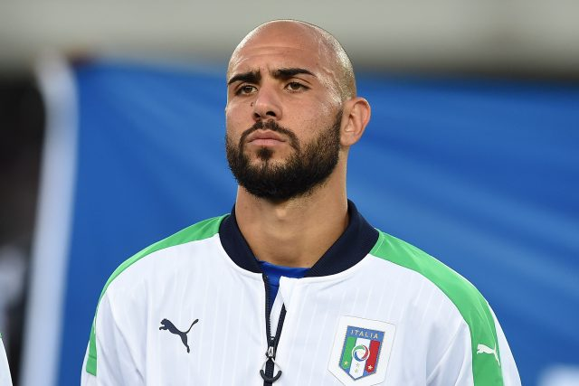 VERONA, ITALY - JUNE 06:  Simone Zaza of Italy looks on during the international friendly match between Italy and Finland on June 6, 2016 in Verona, Italy.  (Photo by Valerio Pennicino/Getty Images)